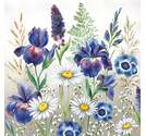 Napkin 25 Mixed Meadow Flowers