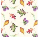 Napkin Lunsj Falling Leaves