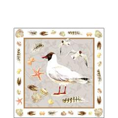 Napkin Kaffe Black Headed Gull Sand
