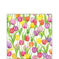 Napkin Kaffe Magic Tulips