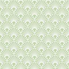 Napkin 33 Art Deco Green #