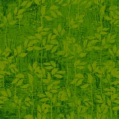 Napkin Lunsj Leaves Pattern Green