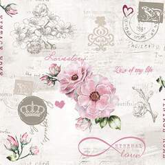 Napkin 33 Eternal Love