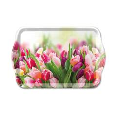 Tray Melamine 13X21cm Glorious Tulips