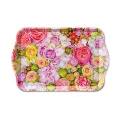 Tray Melamine 13X21cm Bed of Roses Nedsatt 50%