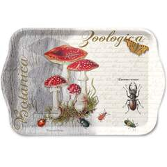 Tray Melamine 13X21cm Fly Agaric And Beetle Nedsatt 50%