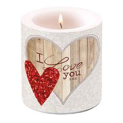 Candle Small I Love you