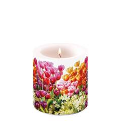 Candle Small Tulips