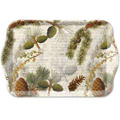 Tray Melamine 13X21cm Life In Forest