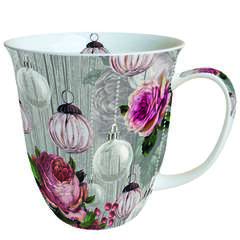 Mug 0.4 L Roses And Baubles