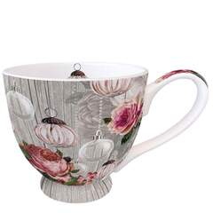 Mug 0.45 L Roses And Baubles