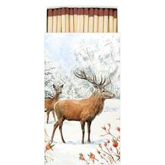 Matches Deer In Snow
